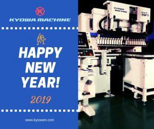 HAPPY NEW YEAR KYOWA MACHINE